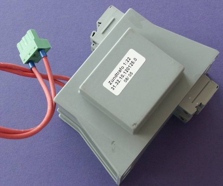 HF-ignition transformer 1:22 vacuum-cast