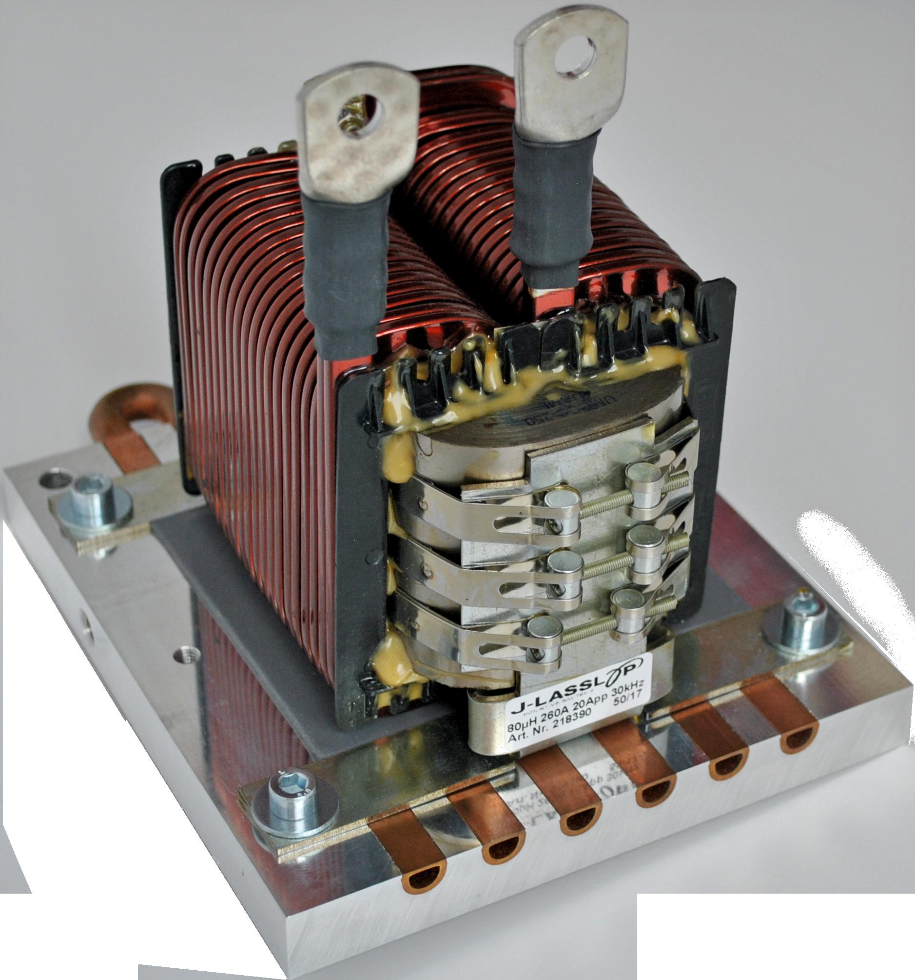 Optimiert für Luftkühlung